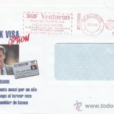 Sellos: FRANQUEO MECANICO ,28020303 MADRID, COLABORADORA, CITIBANK VISA OPTION, . Lote 38212481