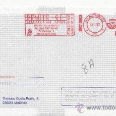 Sellos: FRANQUEO MECANICO ,28019803 MADRID, COLABORADORA, MA, MULTI ASISTENCIA, . Lote 38212528