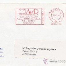 Sellos: FRANQUEO MECANICO ,28010705 MADRID, COLABORADORA, ITALIA MUSICAL, . Lote 38212624