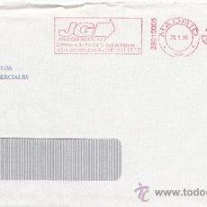 Sellos: FRANQUEO MECANICO ,2801003 MADRID, COLABORADORA, CONSEJO GENERAL COLEGIOS AGENTES COMERCIALES ESPAÑA. Lote 38212682