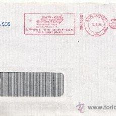 Sellos: FRANQUEO MECANICO ,2801001 MADRID, COLABORADORA, ALDEAS INFANTILES SOS, . Lote 38212731