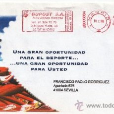Sellos: FRANQUEO MECANICO ,28009834 MADRID, COLABORADORA, . Lote 38212750