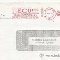 Sellos: FRANQUEO MECANICO ,28009303 MADRID, COLABORADORA, BNP ESPAÑA, S.A., . Lote 38212803