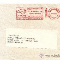 Sellos: FRANQUEO MECANICO ,28008902 MADRID, COLABORADORA, EDITORIAL EDAF, S.A., . Lote 38227011