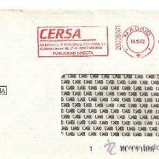 Sellos: FRANQUEO MECANICO ,28008301 EURO MADRID, COLABORADORA, UA, UNIVERSIDAD AUTONOMA DE MADRID, . Lote 38227026