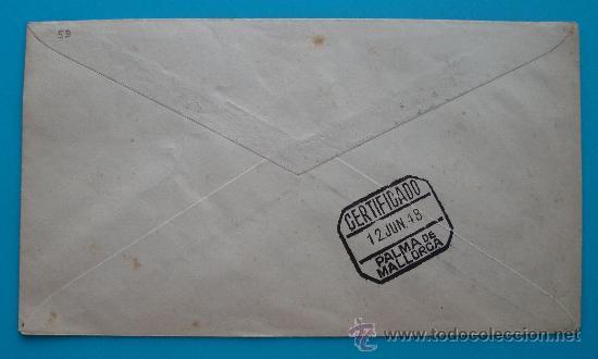 Sellos: SOBRE CERTIFICADO, EXPOSICION DE COLONIAS Y EXCOLONIAS ESPAÑOLAS, BARCELONA 1948 - Foto 2 - 38184568