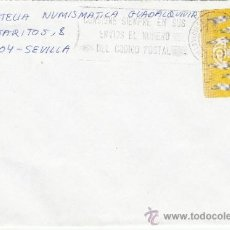 Sellos: ETIQUETA ATMS S/Nº C.2. 3 VILLAVICIOSA DE ODON (MADRID) MATº RODILLO . Lote 38232406