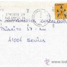 Sellos: ETIQUETA ATMS S/Nº C.2. 3 SAN FERNANDO NAVAL, CADIZ MATº RODILLO . Lote 38232530