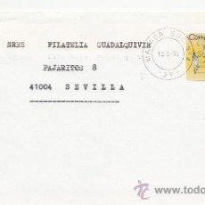 Sellos: ETIQUETA ATMS S/Nº C.2. 3 MALAGA SUC. Nº 4 (29) MATº RODILLO . Lote 38249532