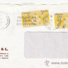 Sellos: ETIQUETA ATMS S/Nº C.2. 3 MAJADAHONDA (MADRID) MATº RODILLO . Lote 38249539