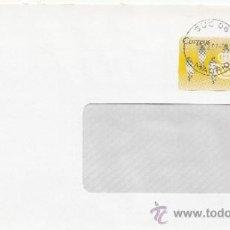 Sellos: ETIQUETA ATMS S/Nº C.2. 3 MADRID SUC 06 MATº RODILLO . Lote 38249924