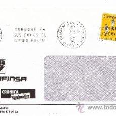 Sellos: ETIQUETA ATMS S/Nº C.2. 3 MADRID C.C.P. CHAMARTIN MATº RODILLO . Lote 38249955