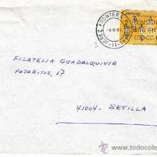 Sellos: ETIQUETA ATMS S/Nº C.2. 3 JEREZ FRONTERA P POSTAL (11) CADIZ MATº RODILLO . Lote 38250188