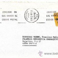 Sellos: ETIQUETA ATMS S/Nº C.2. 3 BARCELONA (08) MATº RODILLO . Lote 38250329