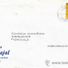 Sellos: ETIQUETA ATMS S/Nº C.2. 3 AGUILAS (MURCIA) MATº RODILLO . Lote 38250447