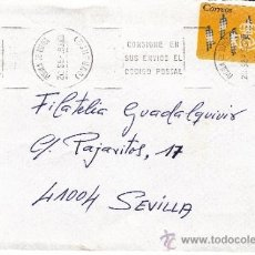 Sellos: ETIQUETA ATMS Nº 1655 C.2. 3 PUEBLA DE TRIVES (OURENSE) MATº RODILLO . Lote 38250580