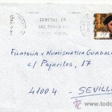Sellos: ETIQUETA ATMS S/Nº C.2. 19 VILLAGARCIA AROSA (PONTEVEDRA) MATº RODILLO . Lote 38425522