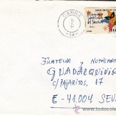 Sellos: ETIQUETA ATMS Nº 6063 C.2. 34 CABRA -14- (CORDOBA) MATº RODILLO. Lote 38407796