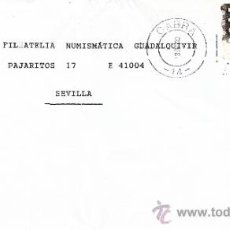 Sellos: ETIQUETA ATMS Nº 0124 C.2. 28 CABRA -14- (CORDOBA) MATº RODILLO . Lote 38411004