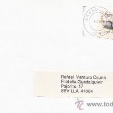 Sellos: ETIQUETA ATMS Nº 3722 C.2. 46 GRANOLLERS -08- BARCELONA MATº RODILLO. Lote 38376690