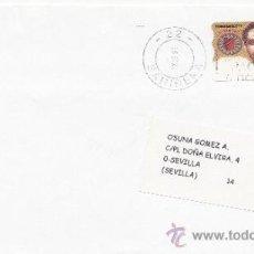Sellos: ETIQUETA ATMS Nº 1523 C.2. 15 SARIÑENA -22- (HUESCA), MATº RODILLO . Lote 38437374