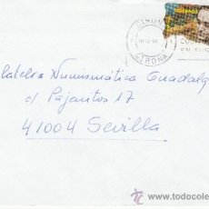 Sellos: ETIQUETA ATMS S/Nº C.2. 14 GIRONA GIRONA, MATº RODILLO. Lote 38437545