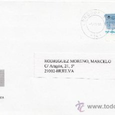 Sellos: ETIQUETA ATMS S/Nº C.2. 13 CORDOBA CCP -14-, MATº RODILLO . Lote 38437901