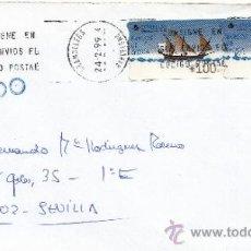 Sellos: ETIQUETA ATMS S/Nº C.2. 13 GRANOLLERS (BARCELONA), MATº RODILLO . Lote 38437952