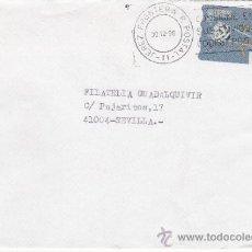 Sellos: ETIQUETA ATMS S/Nº C.2. 8 JEREZ FRONTERA P. POSTAL -11- (CADIZ) MATº RODILLO . Lote 38603465