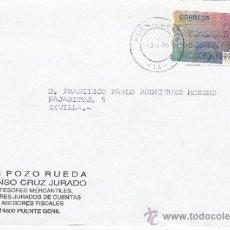 Sellos: ETIQUETA ATMS Nº 0437 C.2. 6 PUENTE GENIL -14- (CORDOBA) MATº RODILLO. Lote 38603747