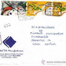 Sellos: ETIQUETA ATMS S/Nº C.2. 11 Y 12 L'ALCORA (CASTELLON) CERTIFICADO MATº CERTIFICADO . Lote 38647907