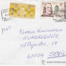 Sellos: ETIQUETA ATMS Nº 0938 C.2. 3 Y SELLOS VILLAGARCIA (PONTEVEDRA) CERTIFICADO MATº RODILLO CERTIFICADO. Lote 38651389