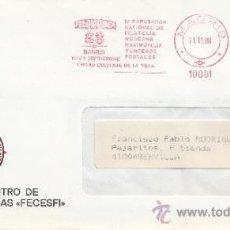 Sellos: FRANQUEO MECANICO 10001 MADRID, FILAMODER 88, 1ª EXP. NAC. DE FILATELIA MODERNA, MAXIMOFILIA Y ENTER. Lote 38715802