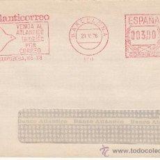 Sellos: FRANQUEO MECANICO 9731 BARCELONA, ATLANTICORREO, VENGA AL ATLANTICO TAMBIEN POR CORREO, . Lote 38715884