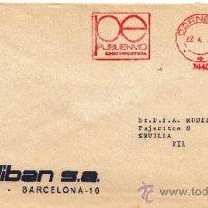Sellos: FRANQUEO MECANICO 7440 CORNELLA (BARCELONA), COLABORADORA, CALIBAN, S.A.. Lote 38716560