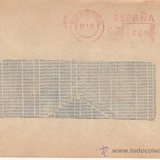 Sellos: FRANQUEO MECANICO 6610 CORDOBA, BANCO DE SANTANDER . Lote 38724872