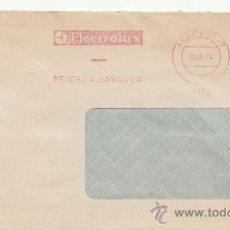 Sellos: FRANQUEO MECANICO 4900 MADRID (7), ELECTROLUX, . Lote 38726863