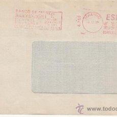 Sellos: FRANQUEO MECANICO 4759 MODIFICADO MADRID, BANCO DE SANTANDER CENTRAL CONTABLE ELECTRONICA . Lote 38726912