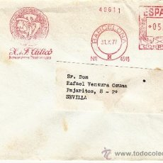 Sellos: FRANQUEO MECANICO 4548 BARCELONA, CALICO NUMISMATICOS PROFESIONALES, . Lote 38726953