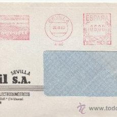 Sellos: FRANQUEO MECANICO 4146 SEVILLA, EUROFIL, ELECTROFIL, S.A.. Lote 38726993