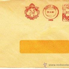 Sellos: FRANQUEO MECANICO 12808 BARCELONA, SUBASTAS DE ARTES Y ANTIGUEDADES, . Lote 38743775