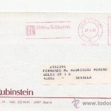 Sellos: FRANQUEO MECANICO 13983 MADRID, HELENA RUBINSTEIN, . Lote 38745005