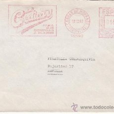 Sellos: FRANQUEO MECANICO 15599 CANGAS DE MORRAZO (PONTEVEDRA), CREDICAN, PARA SUS COMPRAS A PLAZOS. Lote 38747042
