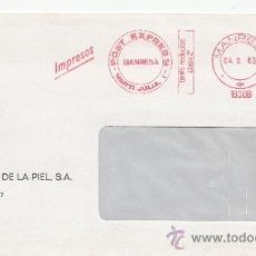 Sellos: FRANQUEO MECANICO 16088 MODIFICAR MANRESA (BARCELONA), COLABORADORA, FIJACIONES MICA, S.A., . Lote 38759254