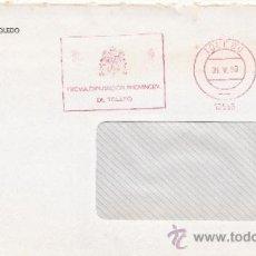 Sellos: FRANQUEO MECANICO 16556 TOLEDO, EXCMA. DIPUTACION PROVINCIAL DE TOLEDO, . Lote 38759412