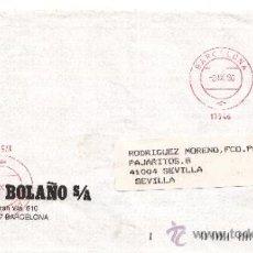 Sellos: FRANQUEO MECANICO 17546 DOBLE BARCELONA, LAMAS BOLAÑO,. Lote 38760048