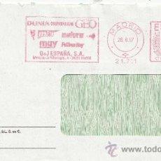 Sellos: FRANQUEO MECANICO 21711 MADRID, DUNIA, COSMOPOLITAN, GEO, MIA, NATURA, MUY INTERESANTE, PADRES HOY, . Lote 38771291