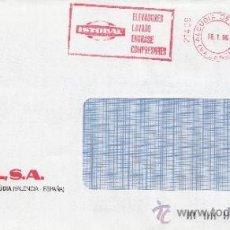Sellos: FRANQUEO MECANICO 21409 ALCUDIA DE CALET (VALENCIA), ISTOBAL, ELEVADORES LAVADO ENGRASE COMPRESORES. Lote 38771825
