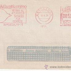 Sellos: FRANQUEO MECANICO 19731 BARCELONA, ATLANTICORREO, VENGA AL ATLANTICO TAMBIEN POR CORREO . Lote 38774216