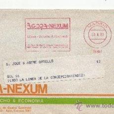 Sellos: FRANQUEO MECANICO 19362 MODIFICADO MADRID, AGORA-NEXUM, LIBROS - DERECHO & ECONOMIA. Lote 38774287